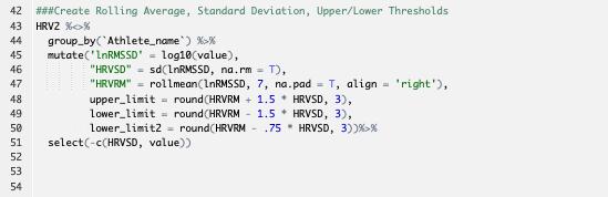 Analysing and Reporting HRV Data in RMarkdown P2